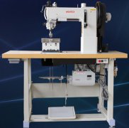 204-370-DP Post bed 2 needle thick thread sewing machine